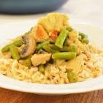 Zielone curry z kurczakie...