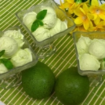 Domowe lody z awokado...