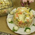 Tradycyjna salatka jarzyn...