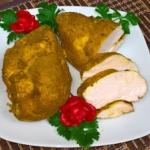 Gotowana piers z kurczaka...