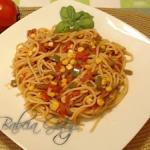 Spaghetti bez Mięsa w...