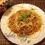 Spaghetti z Tunczykiem w ...