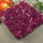 Salatka z czerwonej kapus...