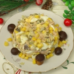 Salatka z grzybkami maryn...