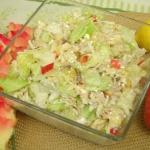 Salatka z makrela wedzona...