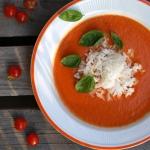 Zupa - krem pomidorowy z...