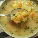 Zupa ogorkowa z ziemniaka...