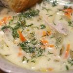 Zupa ogórkowa z selerem...