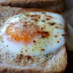 Tosty z jajkiem i serem