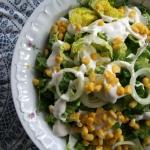 Salata rzymska ze smietan...