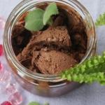Wegańskie lody kakaowe