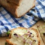 Domowy biały chleb po...