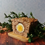 Pieczen z jajkiem