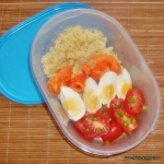 Lunchbox z lososiem