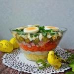 Wielkanocna salatka z bia...