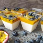 Deser z mango i marakują