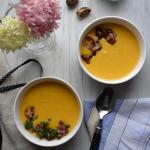 Zupa z dyni, marchewki i...