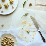Praliny pistacjowe z bial...
