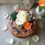 Tort czekoladowy z musem...