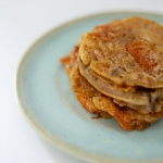 Placki z ostrym kimchi