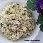 Tania salatka ziemniaczan...