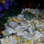 Salatka sledziowa z broku...