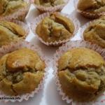 Muffinki bananowe bez...