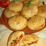 Bułeczki pizza