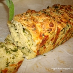 Chlebek czosnkowo - serow...