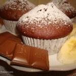 Czekoladowe muffinki z ba...