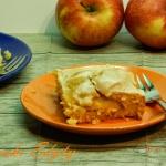 Ciasto z polowkami jablek...