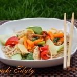 Kurczak feng shui z bambu...