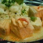 Ryba w sosie curry- fish ...