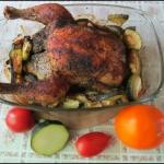 Brązowy kurczak z...