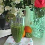 Zielony koktajl...