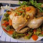 Kurczak faszerowany