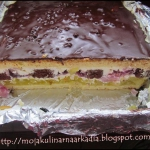 Ciasto urodzinowe. Tort.