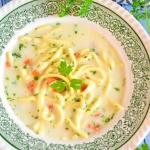 Zupa koperkowa z lanym...