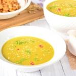 Zupa z soczewicy zielonej