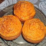 Muffiny z kremem...