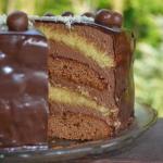 Tort podwojnie czekoladow...