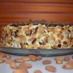 Tort migdalowy z batonika...