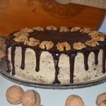 Tort orzechowo – kawowy...