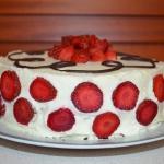 Tort smietankowy z truska...
