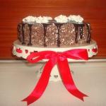 Tort czekoladowo – kawo...