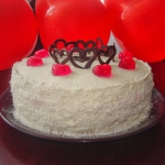 Tort Walentynkowy – sma...