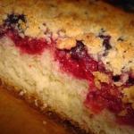 Ciasto drozdzowe z owocam...