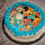 Tort morelowy Myszka Miki...