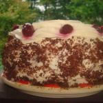 Tort z slwikowa nutella