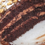 Tort czekoladowy z kremem...